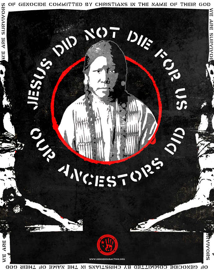 Jesus Did Not Die For Us Our Ancestors Did
