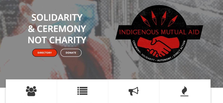 indigenous mutual aid