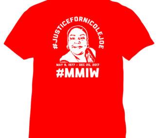 #justicefornicolejoe-mmiw-shirt