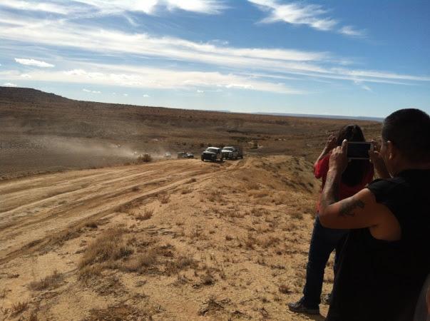 Hopi Rangers Taking Diné Sheep